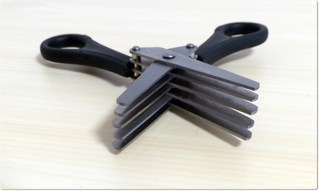 シュレッダーハサミ 刃