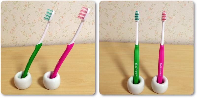 無印良品 歯ブラシスタンド2個