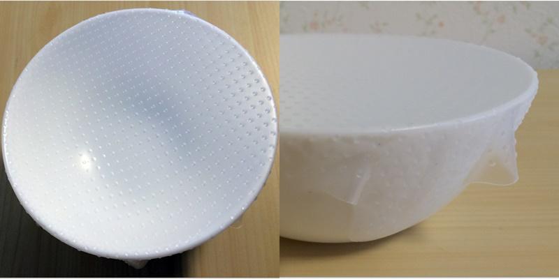 シリコンラップ 丸皿