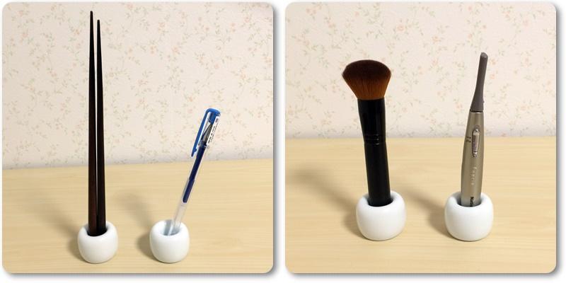 無印良品 歯ブラシスタンド ペン、チーク