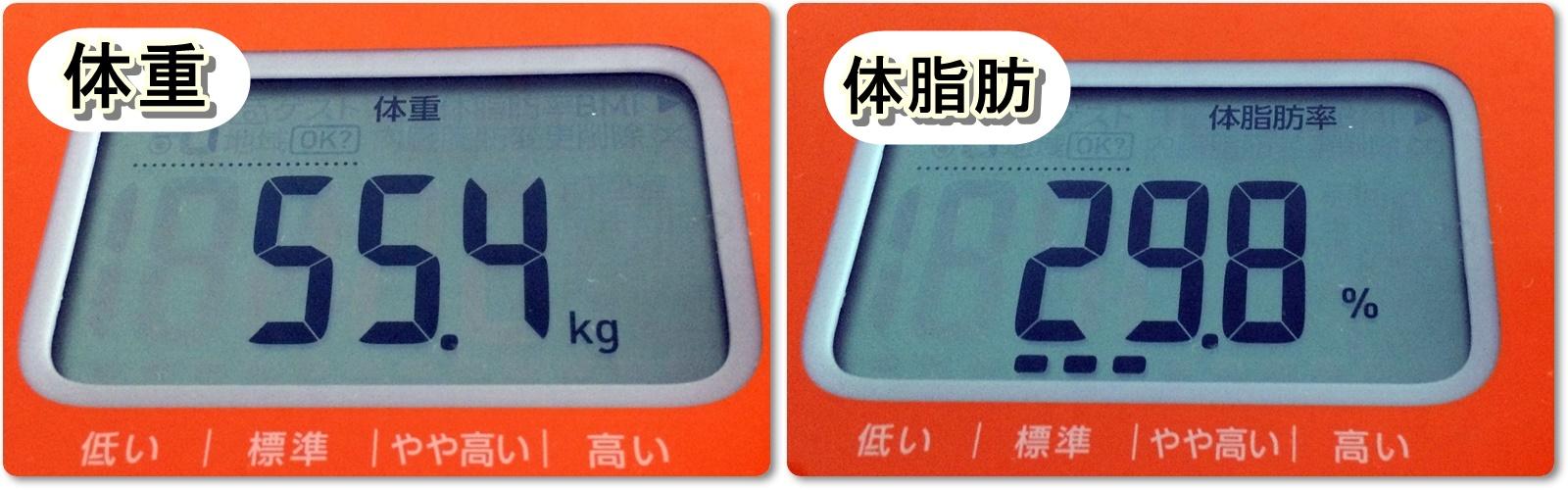 2014.02.14体重体脂肪