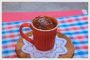 マグカップチョコケーキ