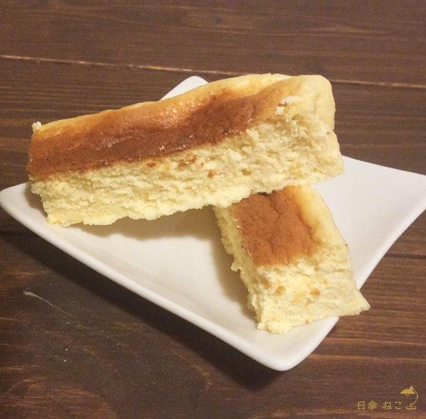 低糖質チーズケーキ完成