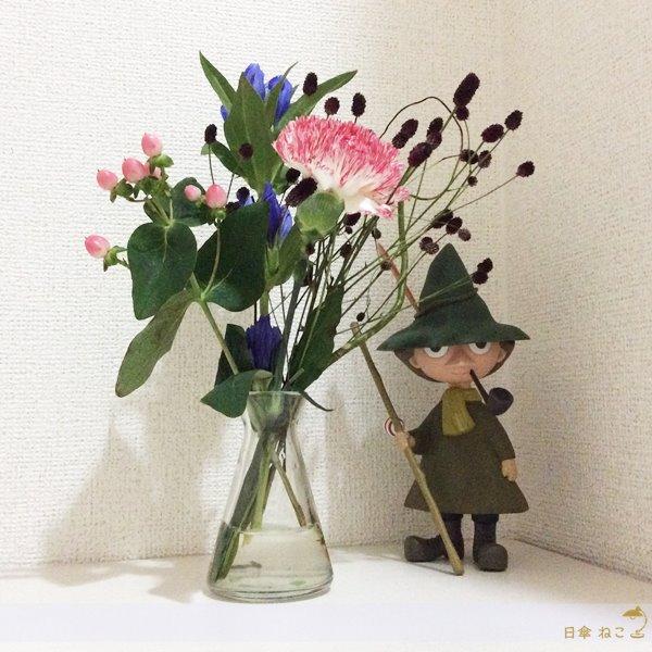 ブルーミーライフお花飾る3