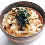 ゴボサラ料亭風炊き込みご飯4