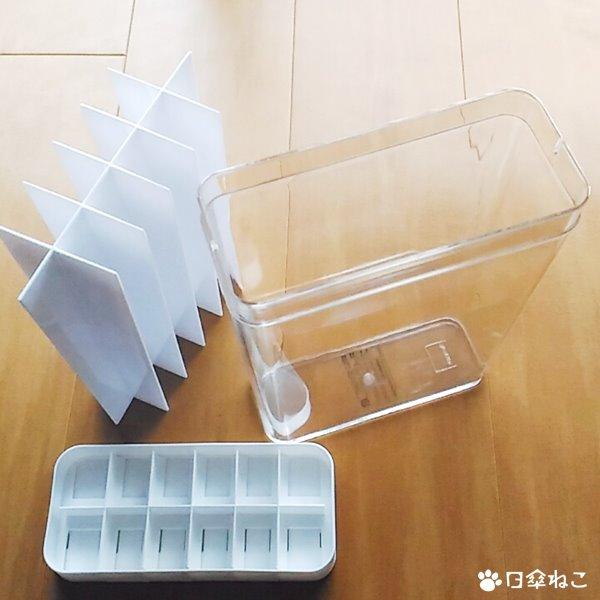 1合分別冷蔵庫用米びつ プレート4