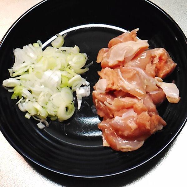 ふっくらネギ塩鶏めし1