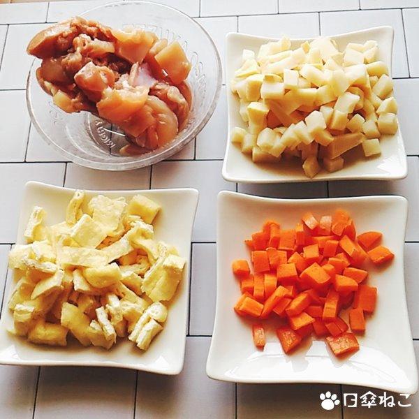 焼肉のたれで作る炊き込みご飯1