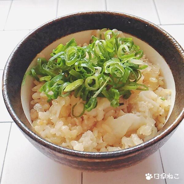 冷凍餃子炊き込みご飯