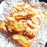 カレーパン風トースト