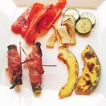 魚焼きグリルで焼き野菜