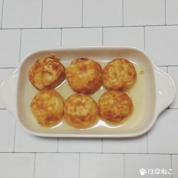 チーズ明石焼き風1